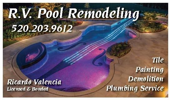 R.V. Remodeling business card