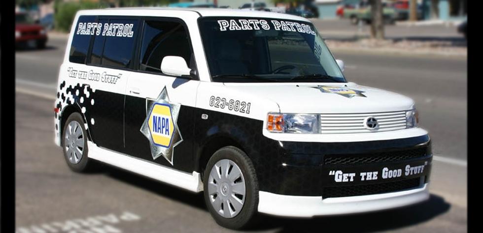 NAPA Parts Patrol
