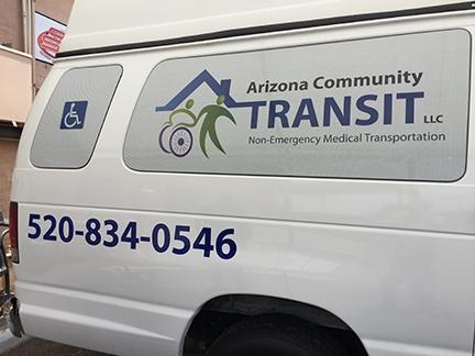 AZ Community Transit van