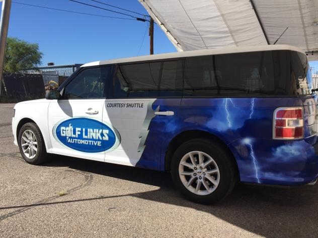 Borst Automotive vehicle wrap