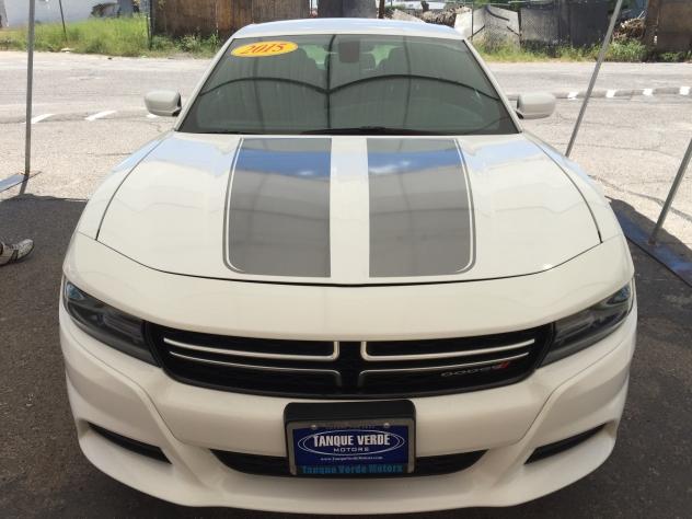 Tanque Verde Motors vehicle stripes - silver