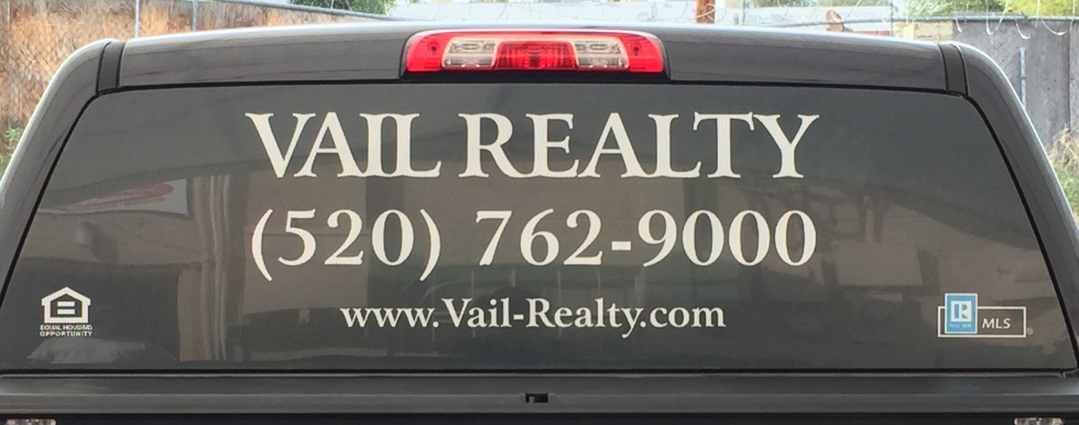 Vail Realty perforated rear window