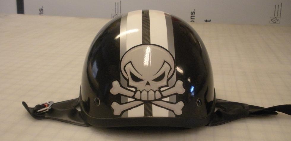 Harley Davidson helmet front