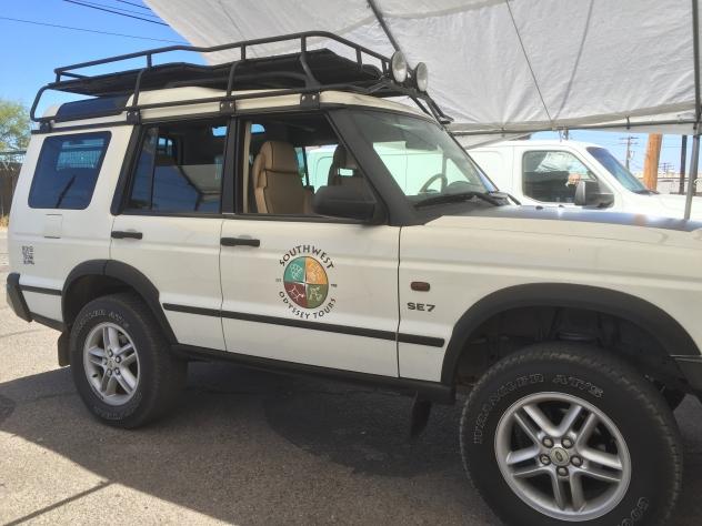 Southwest Odyssey jeep