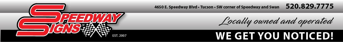 Speedway Signs Tucson